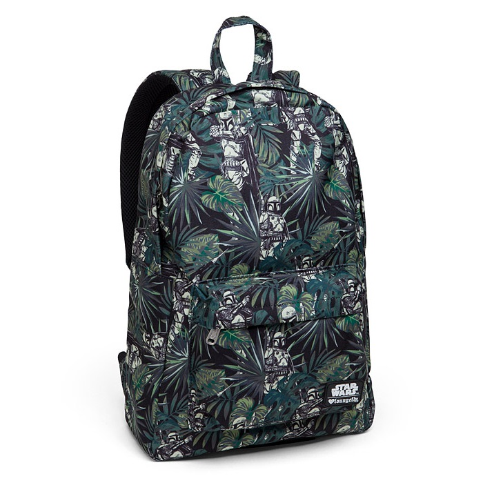 Loungefly x Star Wars Boba Fett Flora Backpack at ThinkGeek