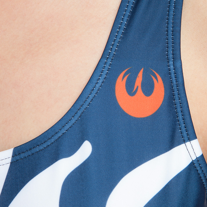 Women's Musterbrand x Star Wars Ahsoka Tano swimsuit at ThinkGeek