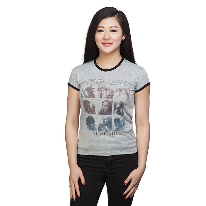 Women's Star Wars The Last Jedi ombre print t-shirt at ThinkGeek