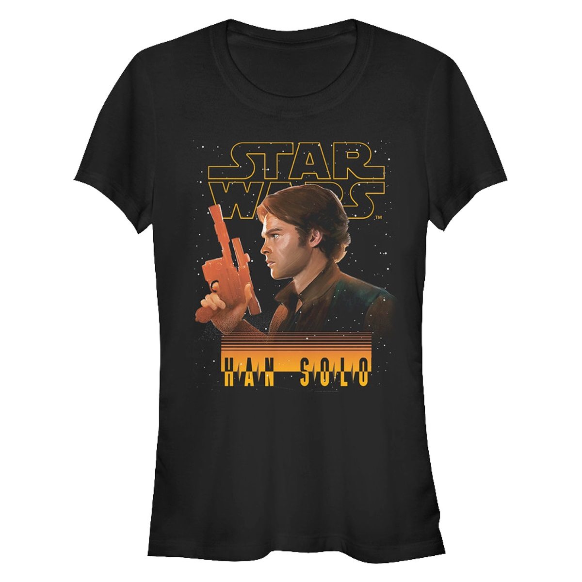 Women's Solo A Star Wars Story Han Solo T-Shirt at 80's Tees
