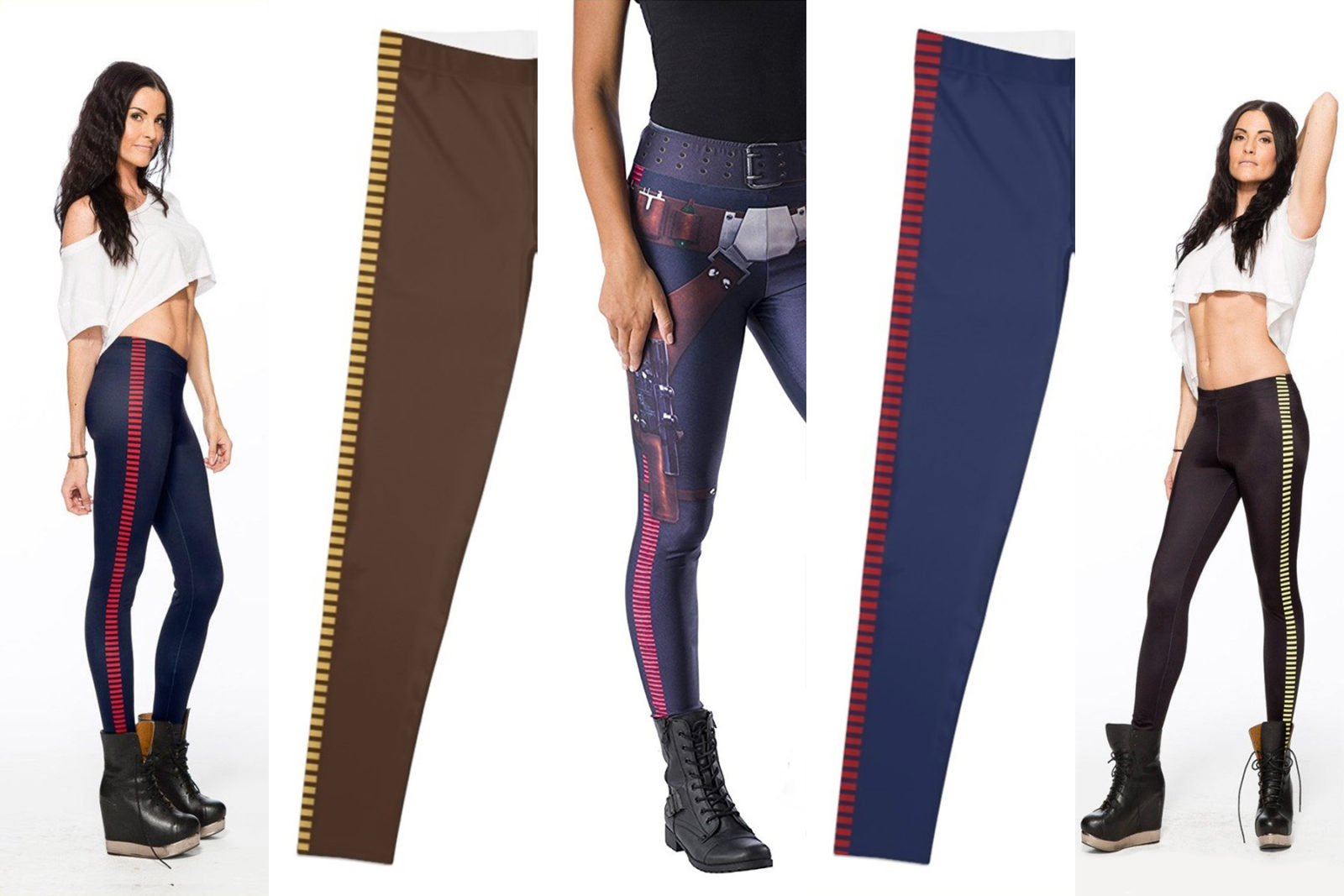 Leia's List – Han Solo Cosplay-Style Leggings