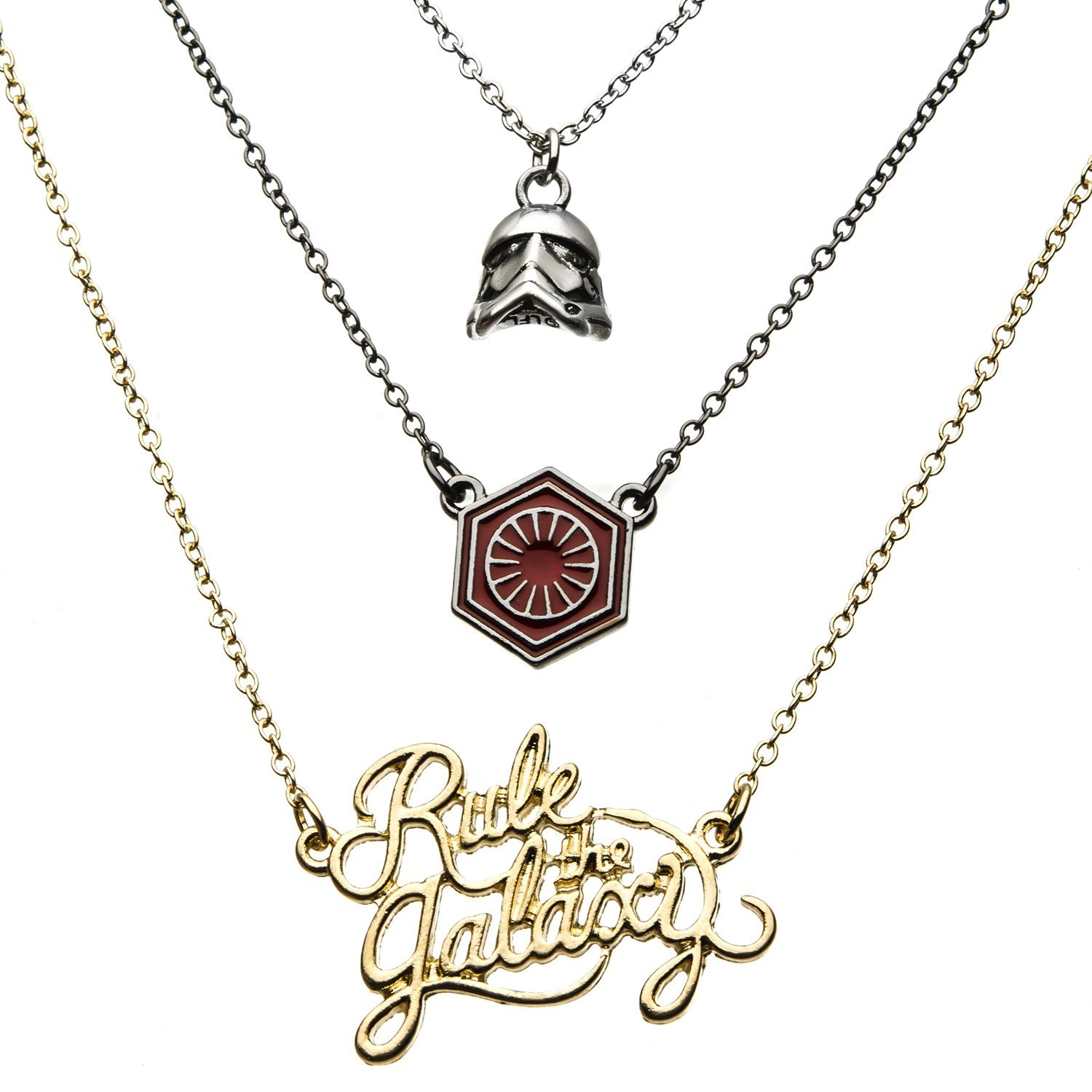 Star Wars First Order Rule The Galaxy Tiered Necklace on Amazon