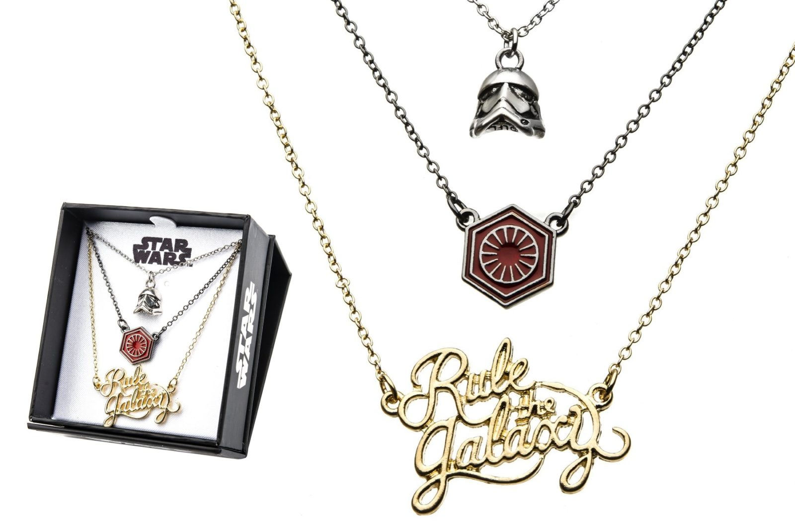 First Order Rule The Galaxy Tiered Necklace