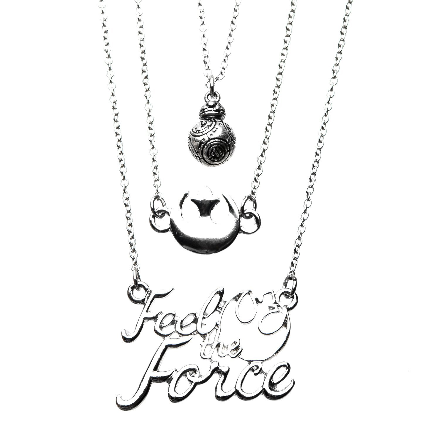 necklace fashion tiered delicate forever womens khloe new star multi