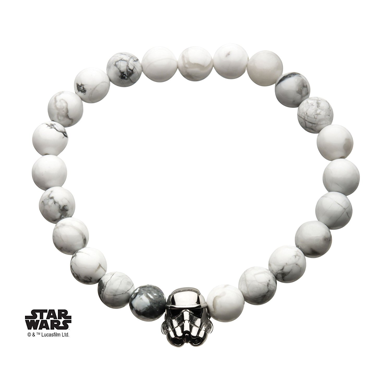 Star Wars Stormtrooper Beaded Bracelet on Amazon