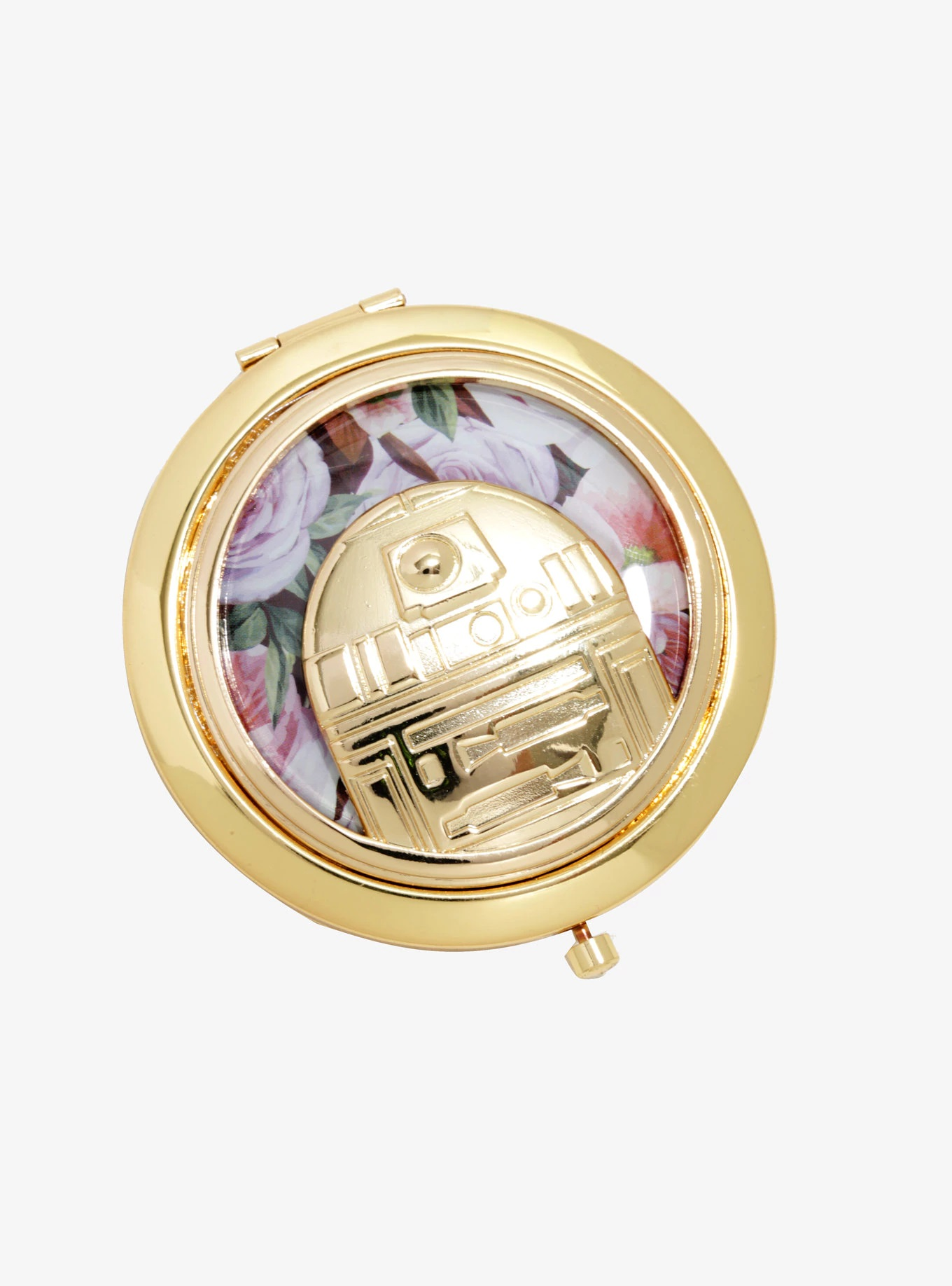 Loungefly x Star Wars R2-D2 Floral Compact Mirror at Box Lunch
