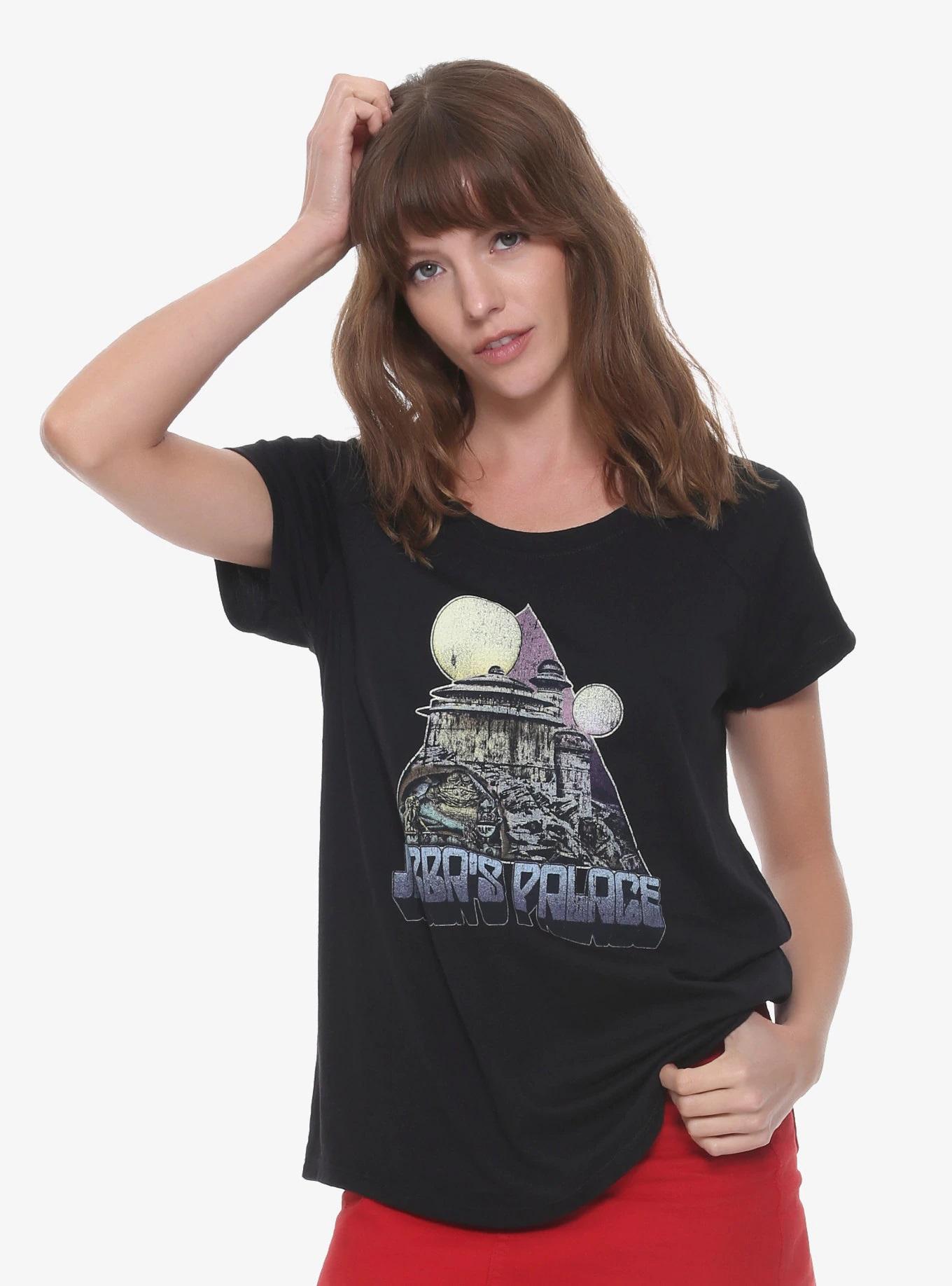 Women's Star Wars Jabba's Palace T-Shirt at Box Lunch