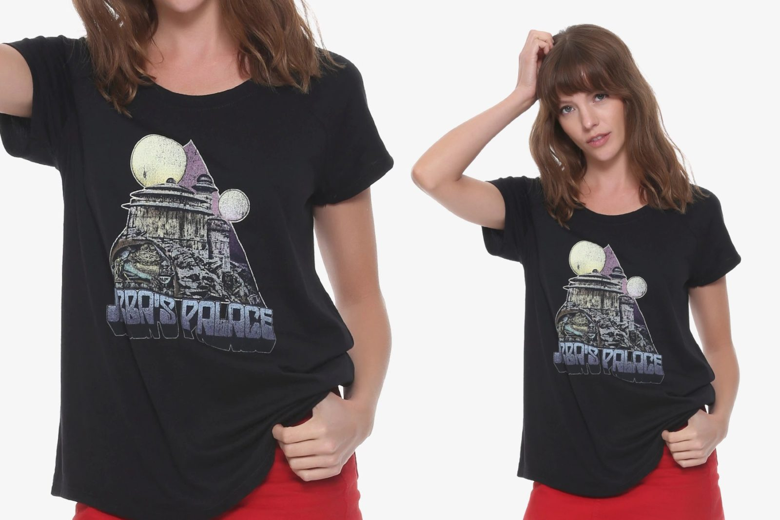 Women's Jabba's Palace T-Shirt at Box Lunch