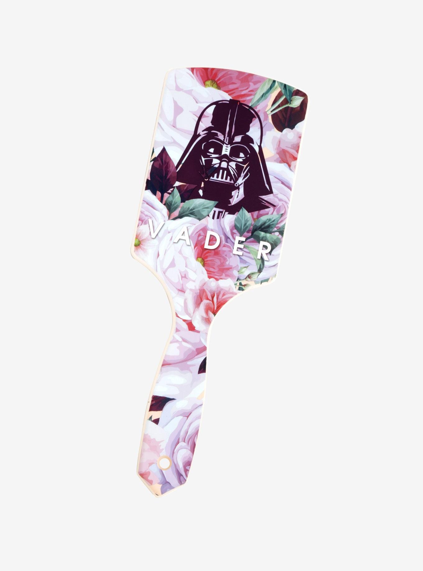 Loungefly x Star Wars Darth Vader Floral Hair Brush at Box Lunch