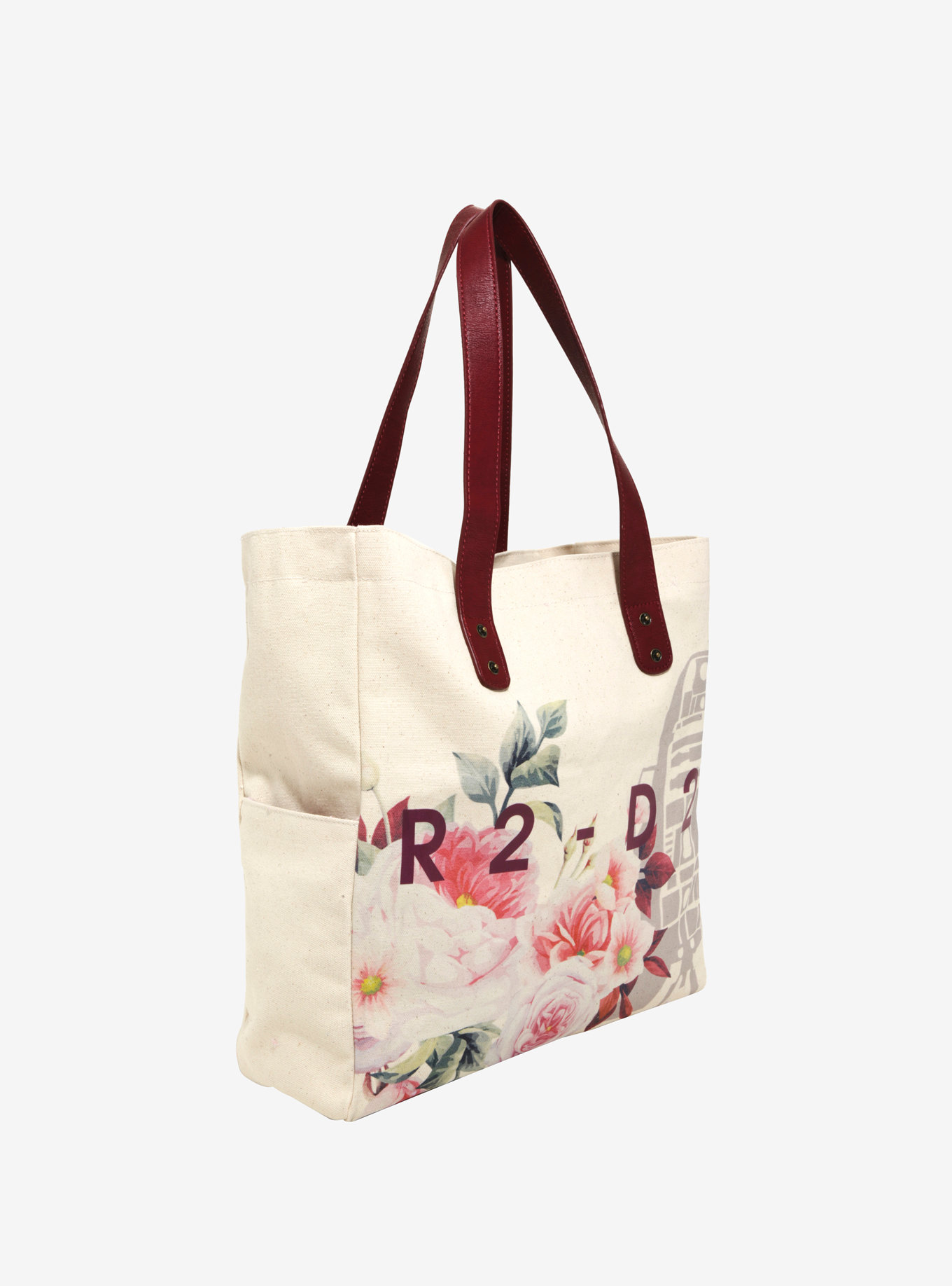 Loungefly x Star Wars R2-D2 Floral Tote Bag at Box Lunch