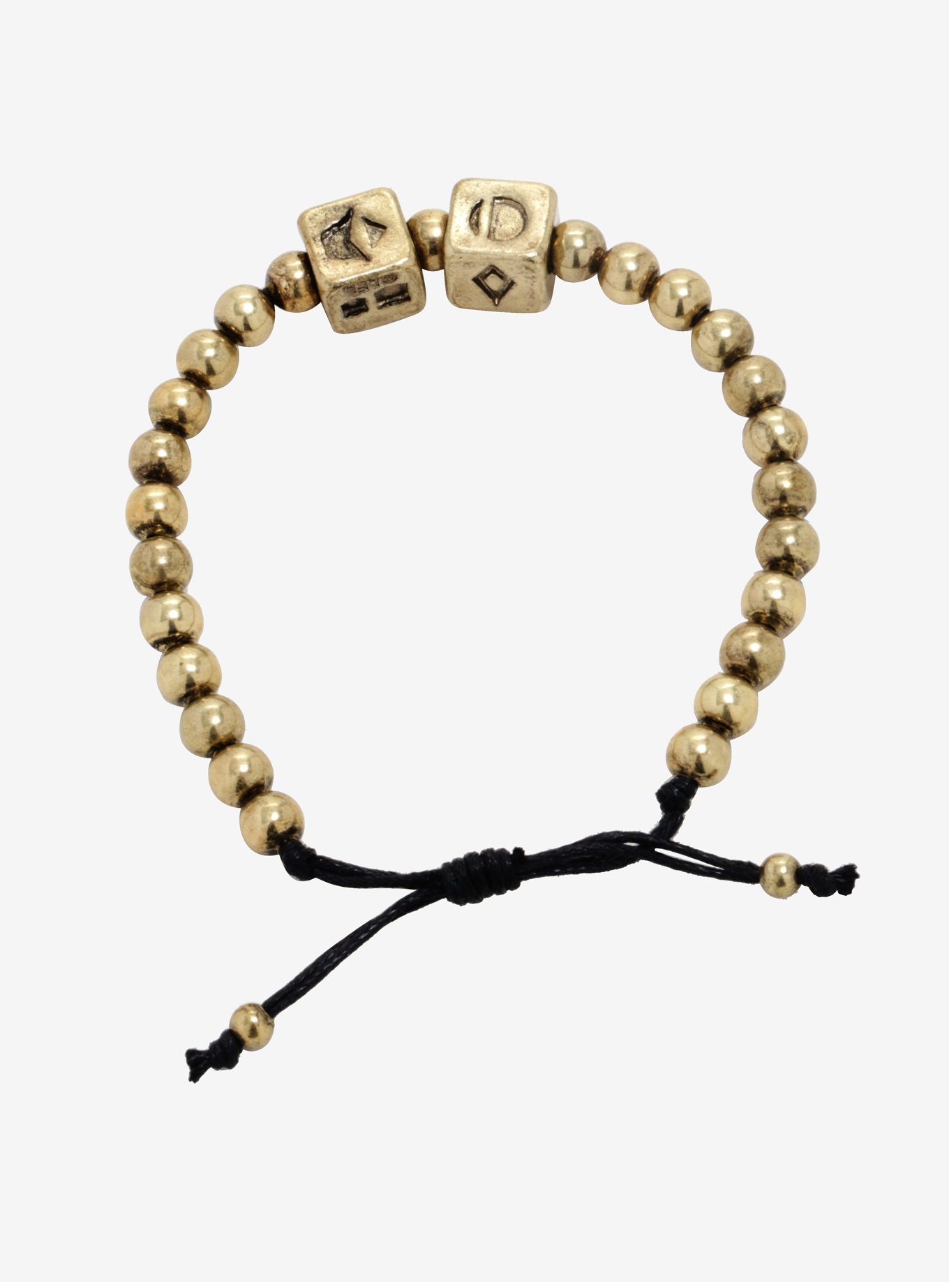Star Wars Solo A Star Wars Story Dice Beaded Bracelet available exclusively at Box Lunch