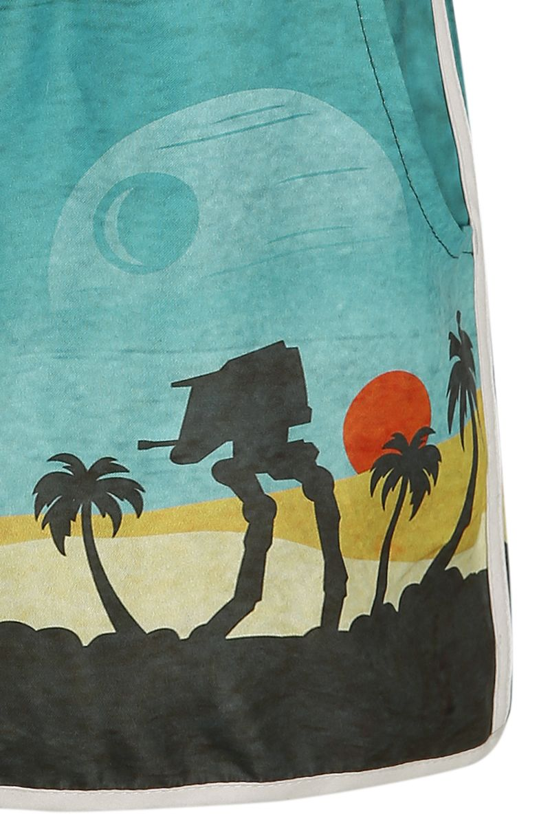 Women's Star Wars Rogue One Scarif Swimwear Shorts at EMP Online