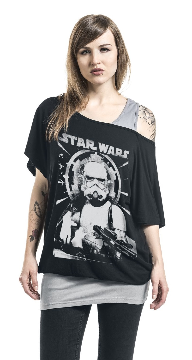 Women's Solo A Star Wars Story Imperial Patrol Top at EMP Online