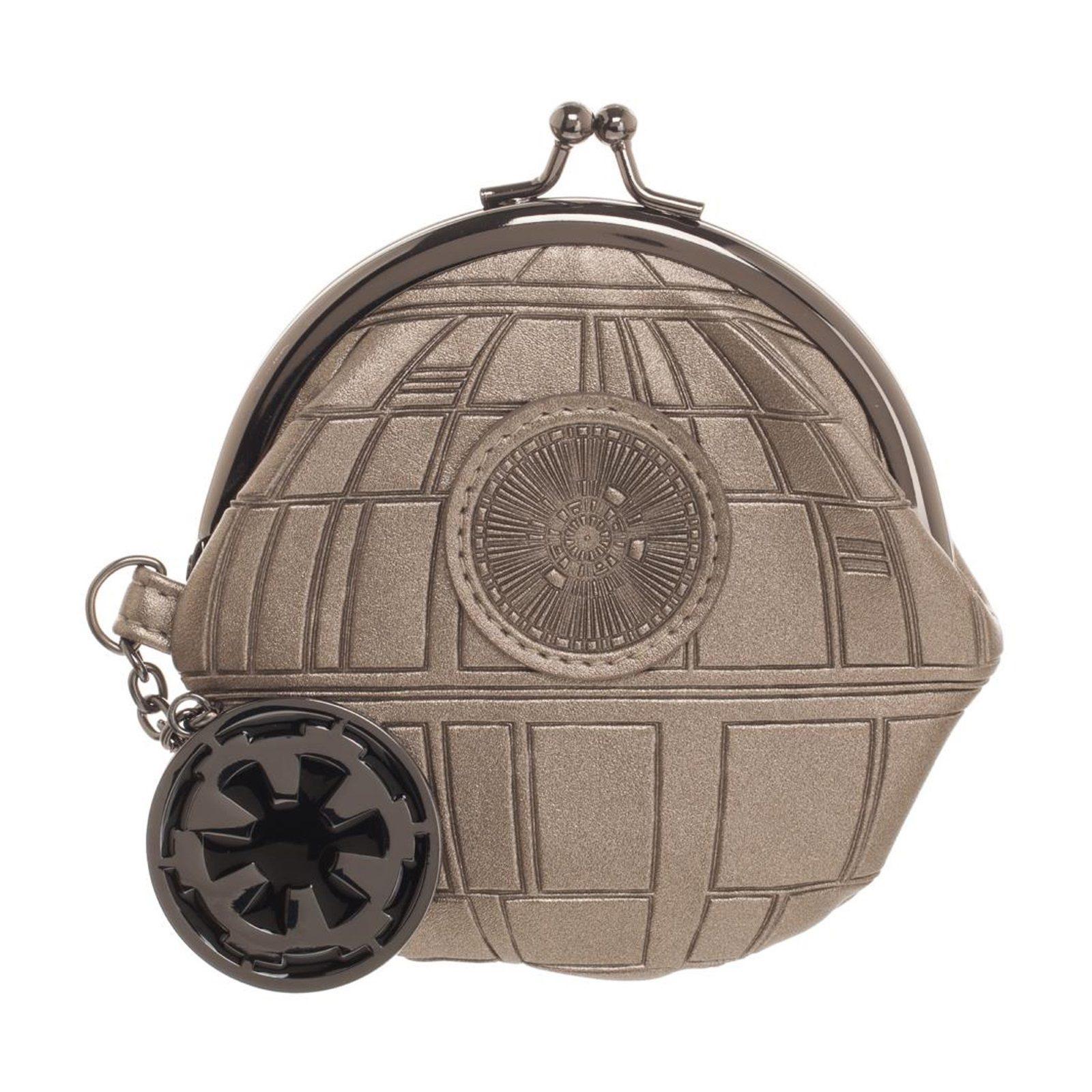 Bioworld x Star Wars Rogue One Death Star Kisslock Coin Purse at Fun