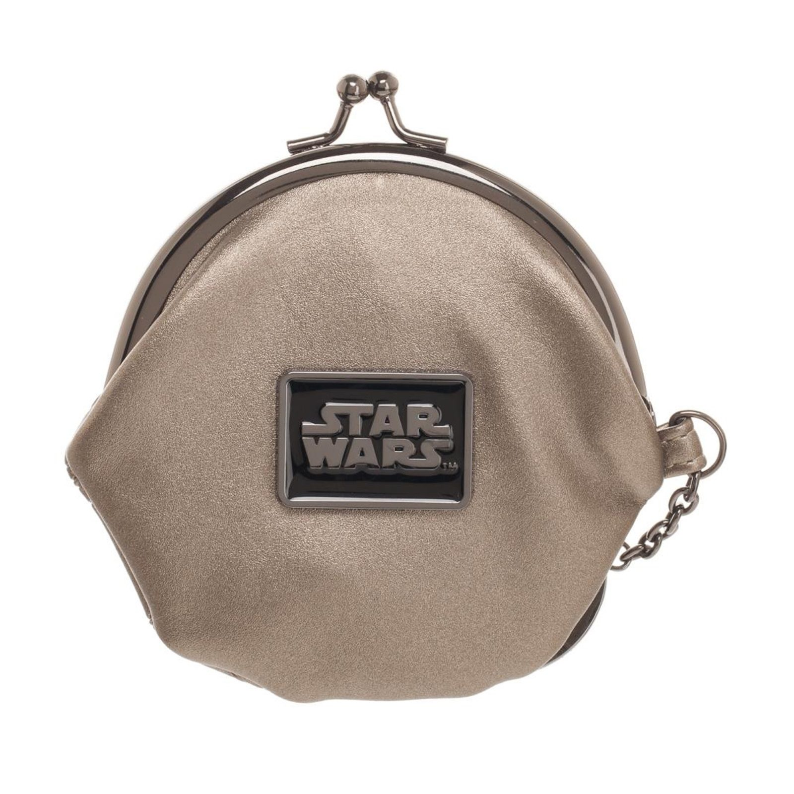 Bioworld x Star Wars Rogue One Death Star Kisslock Coin Purse at Fun