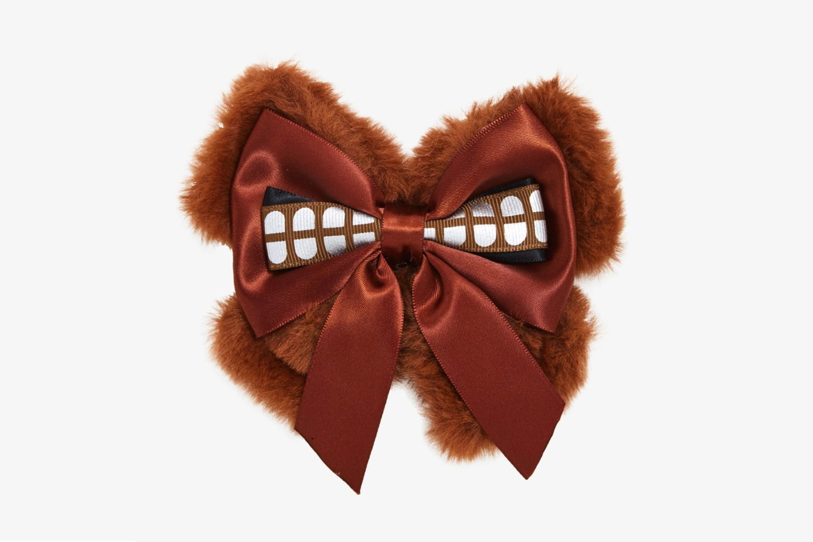 Star Wars Chewbacca Fuzzy Cosplay Hair Bow