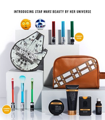 Her Universe x Star Wars Beauty cosmetic range at Hot Topic