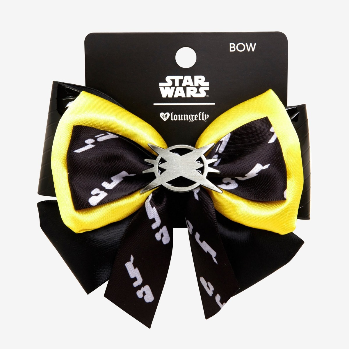 Loungefly x Star Wars Solo Lando Calrissian Cosplay Style Hair Bow at Hot Topic