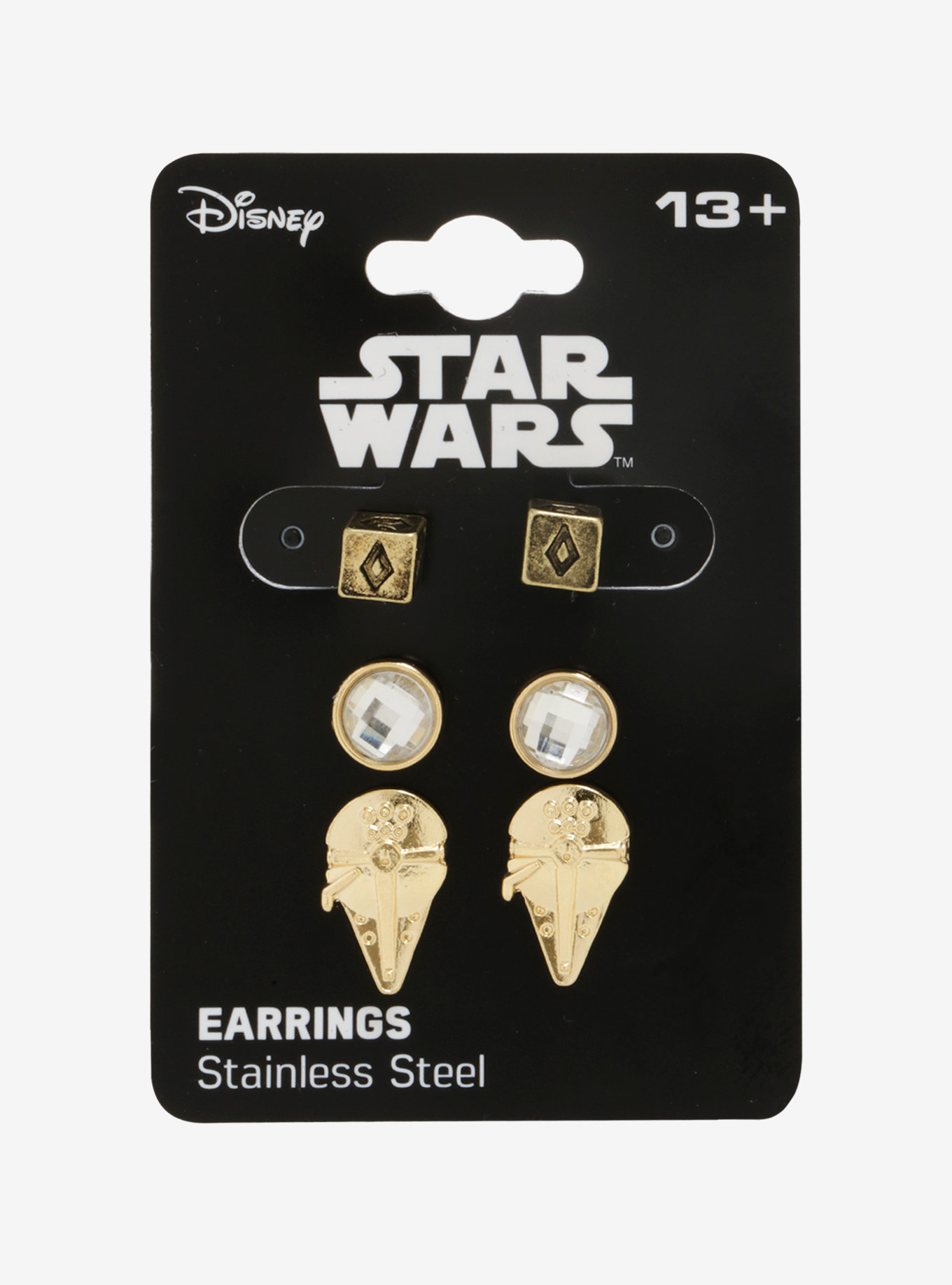 Solo A Star Wars Story Millennium Falcon Dice Stud Earring Set at Hot Topic