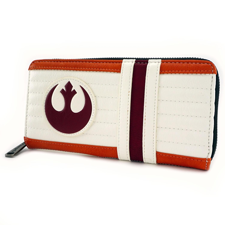 Loungefly x Star Wars Luke Skywalker X-Wing Pilot Cosplay Zip-Up Wallet