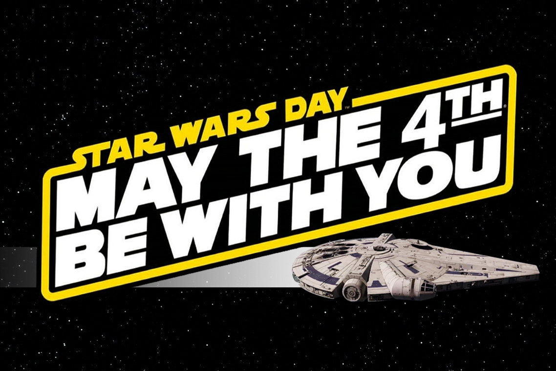 May The 4th – Star Wars Day 2018