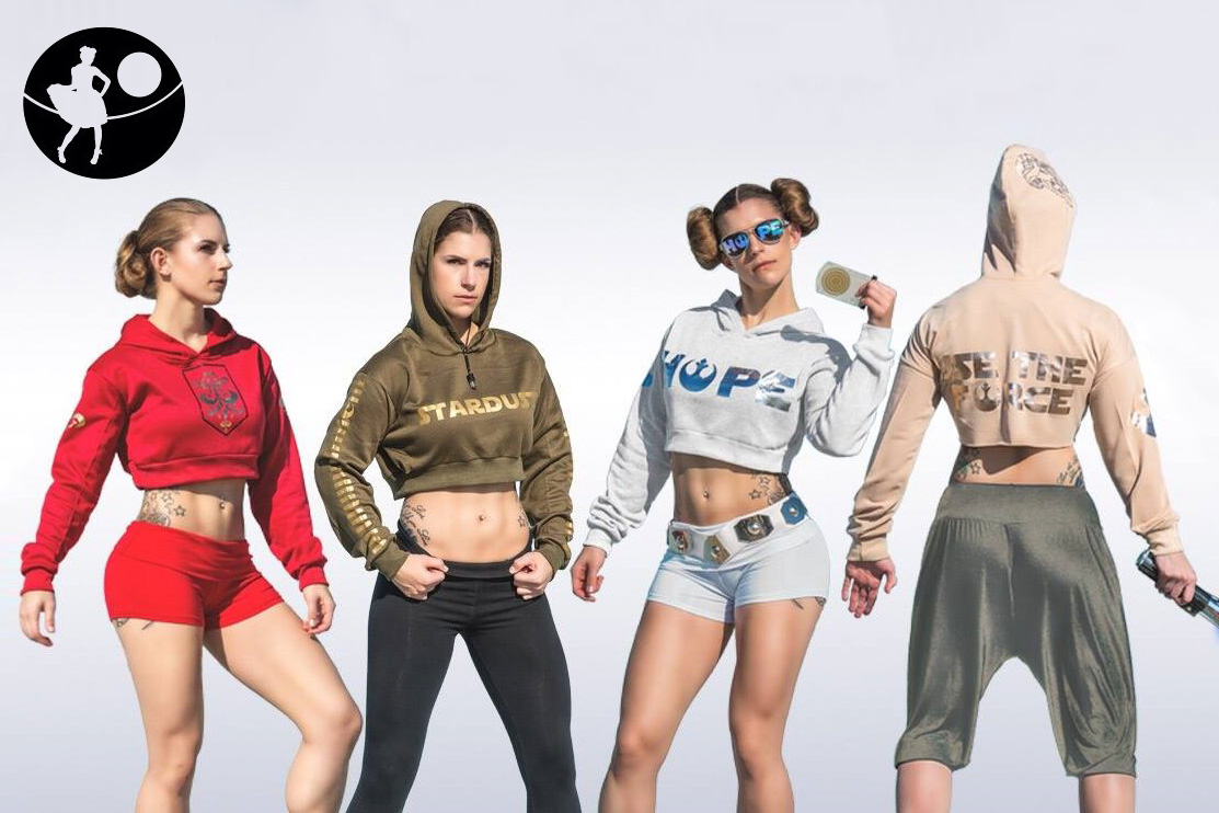 Star Wars Crop Tops by Orion's Originals