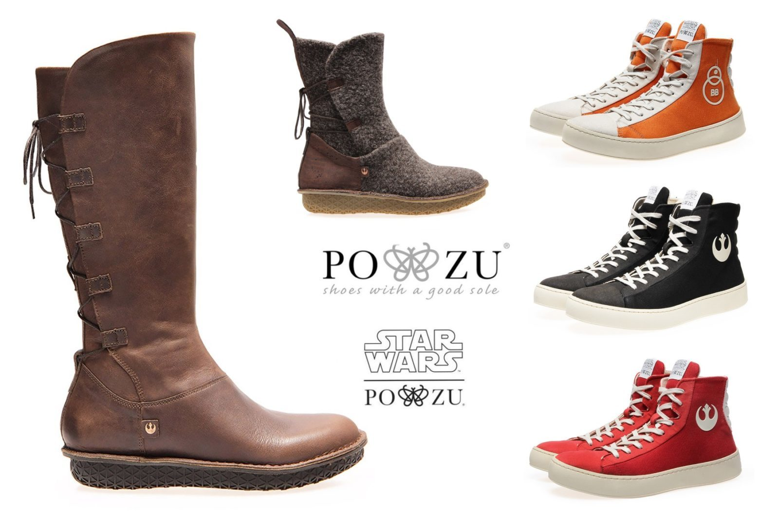 Get £20 Off Po-Zu x Star Wars Footwear