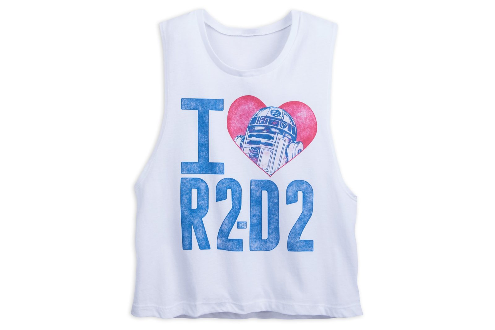 I ♥ R2-D2 Crop Tank Top at Shop Disney
