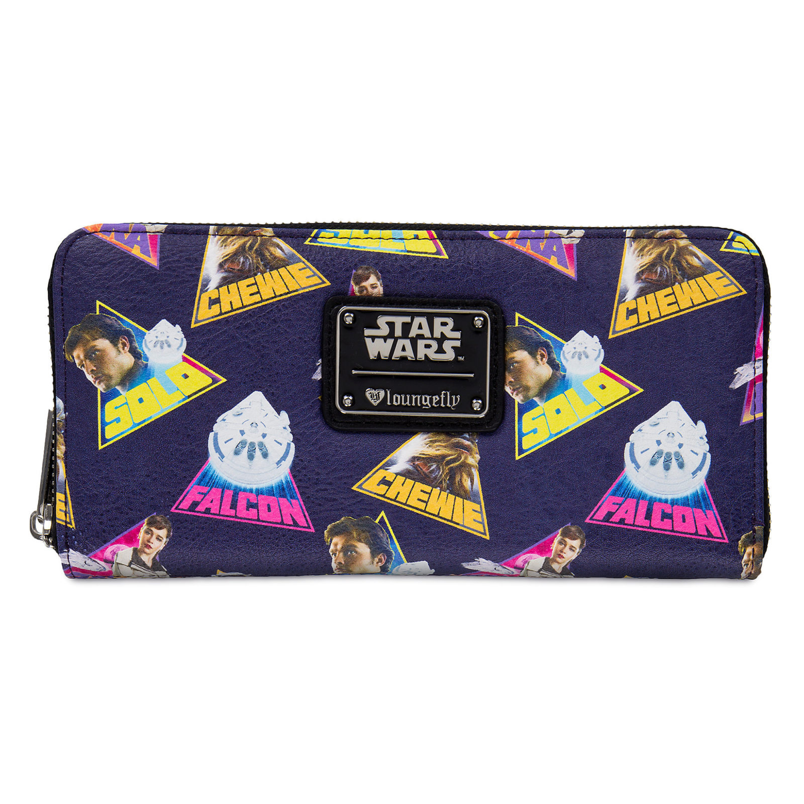 Loungefly x Star Wars Solo Printed Zip-Up Wallet at Shop Disney