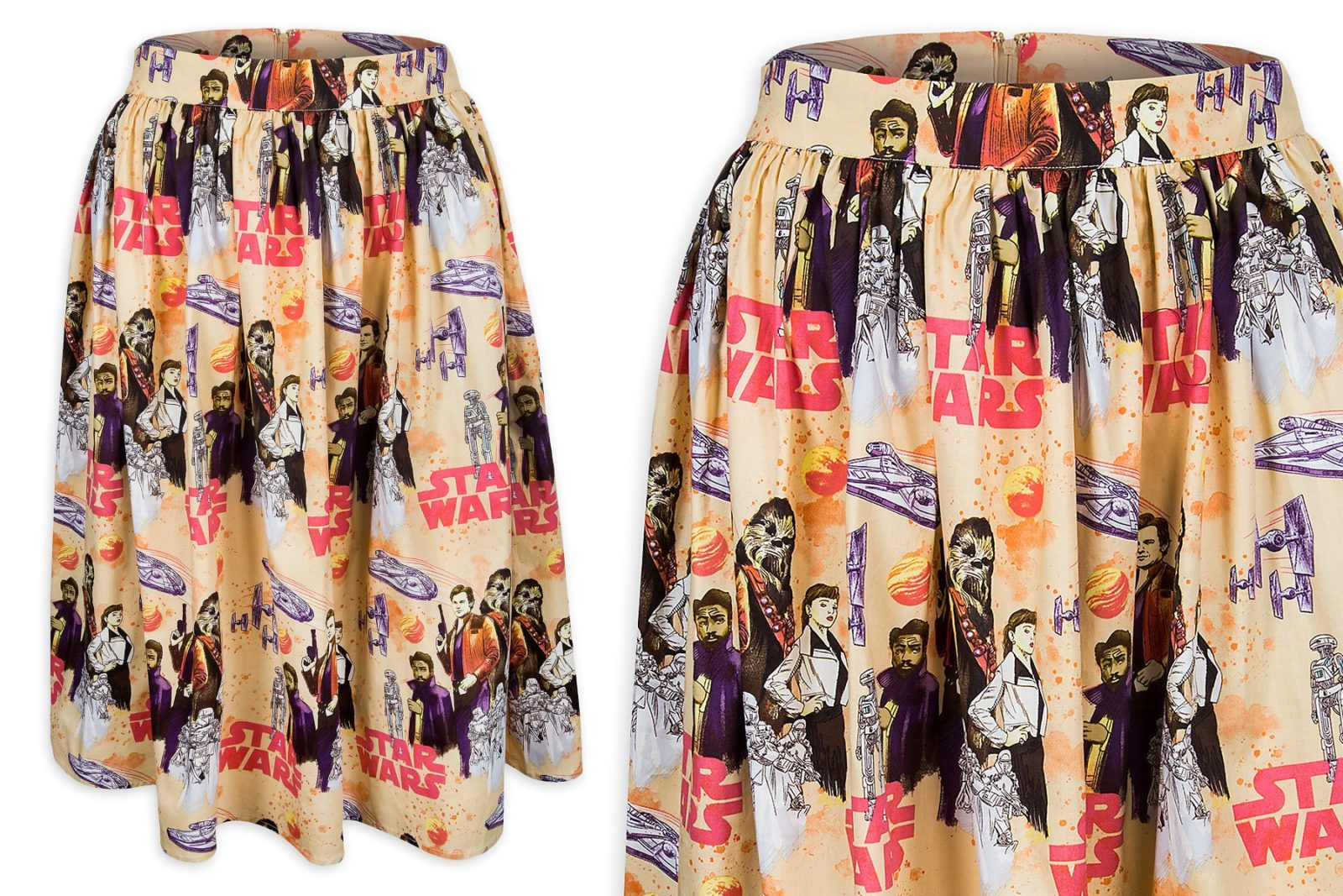 Women's Solo Printed Skirt at Shop Disney