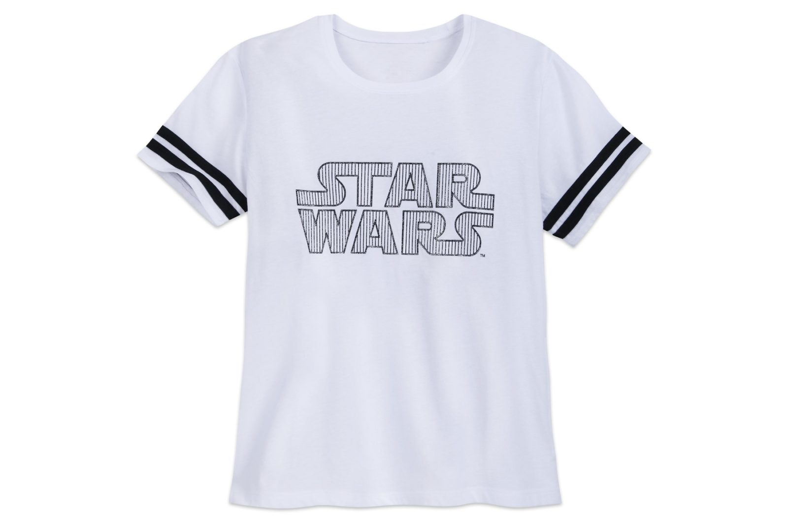 New Women's Star Wars Glitter Logo T-Shirt