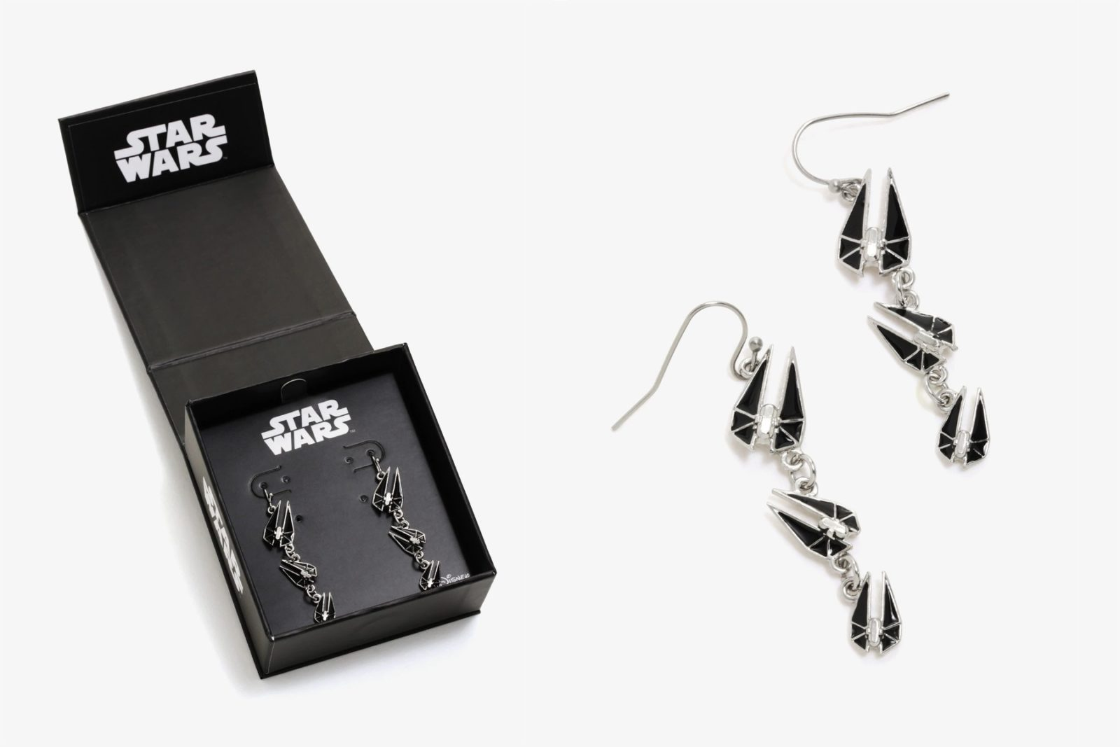 New Star Wars Starfighter Dangle Earrings