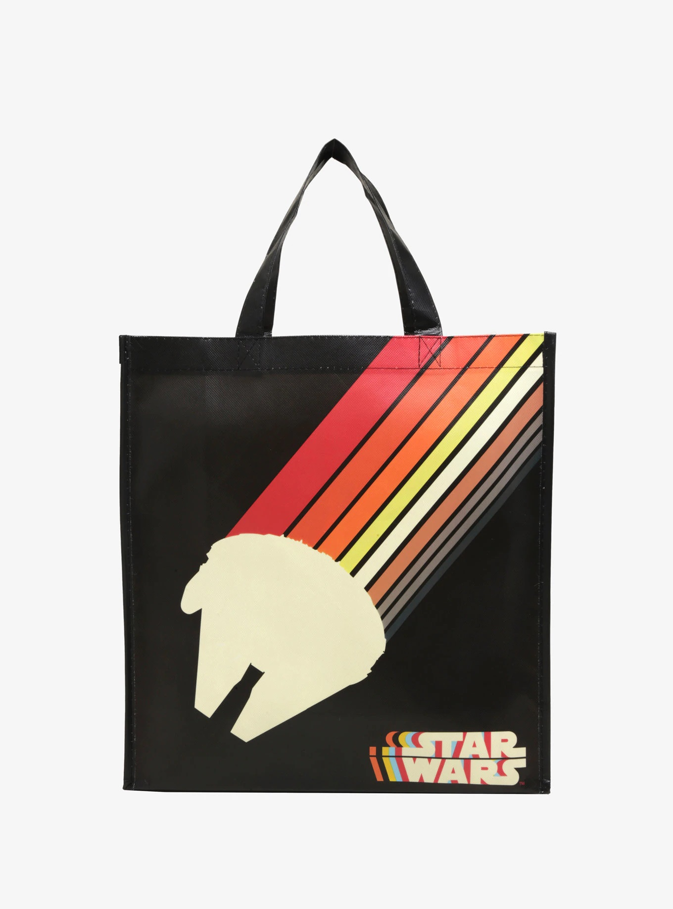 Star Wars Millennium Falcon Reusable Tote Bag Available Exclusively at Box Lunch