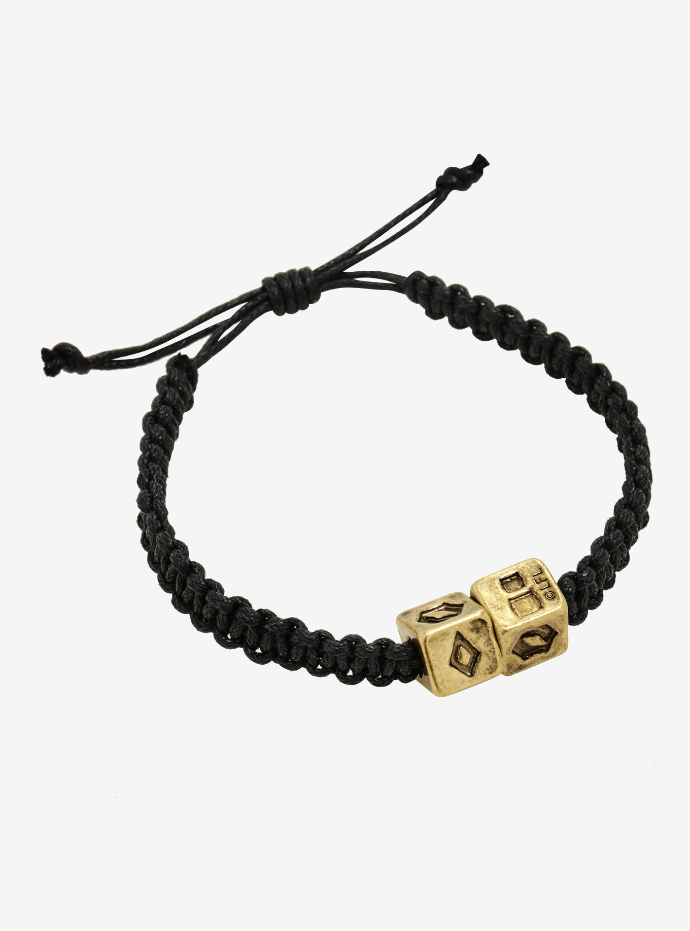 Solo A Star Wars Story Han Solo Dice Cord Bracelet at Box Lunch