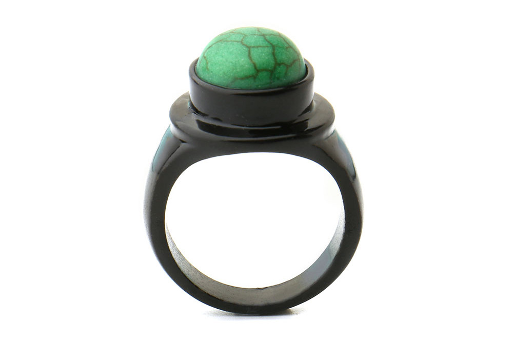 Solo A Star Wars Story Qi'ra inspired cosplay style black and green pinky ring