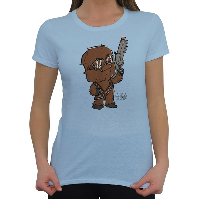 Women's Star Wars Funko Pop! Chewbacca T-Shirt at SuperHeroStuff