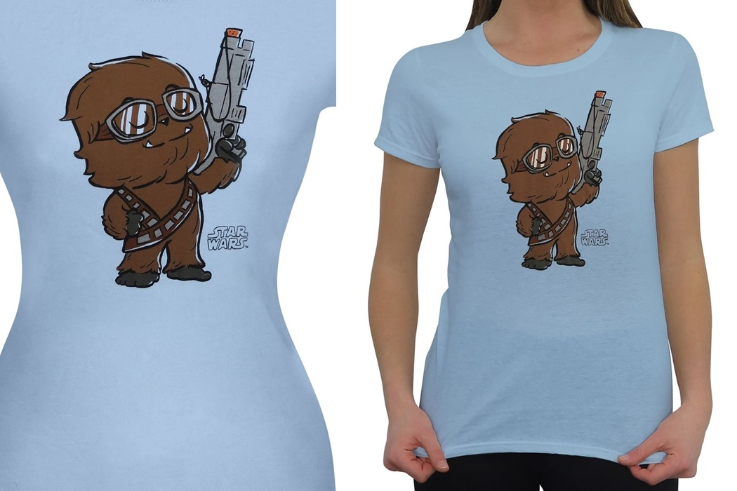 Women's Funko Pop! Solo Chewbacca T-Shirt