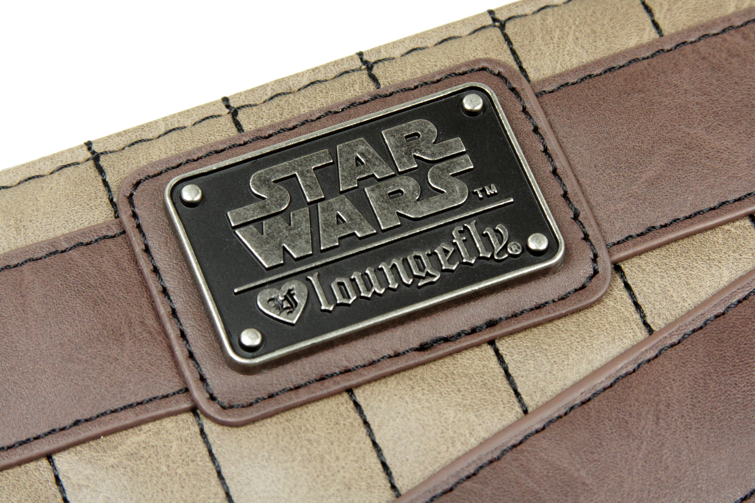 Loungefly x Star Wars Rey Faux Leather Zip-Up Wallet at Fun.com