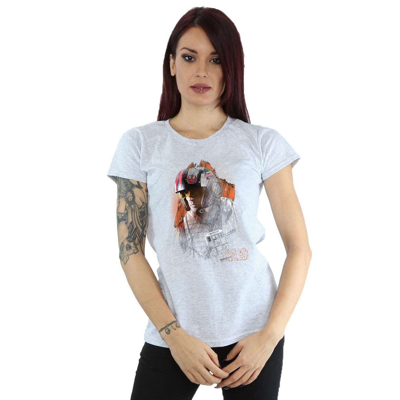Leia's List - Women's Star Wars Poe Dameron T-Shirt by Absolute Cult available on Amazon