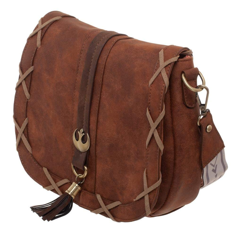 Bioworld x Star Wars Princess Leia Endor Saddlebag Purse Handbag at Amazon