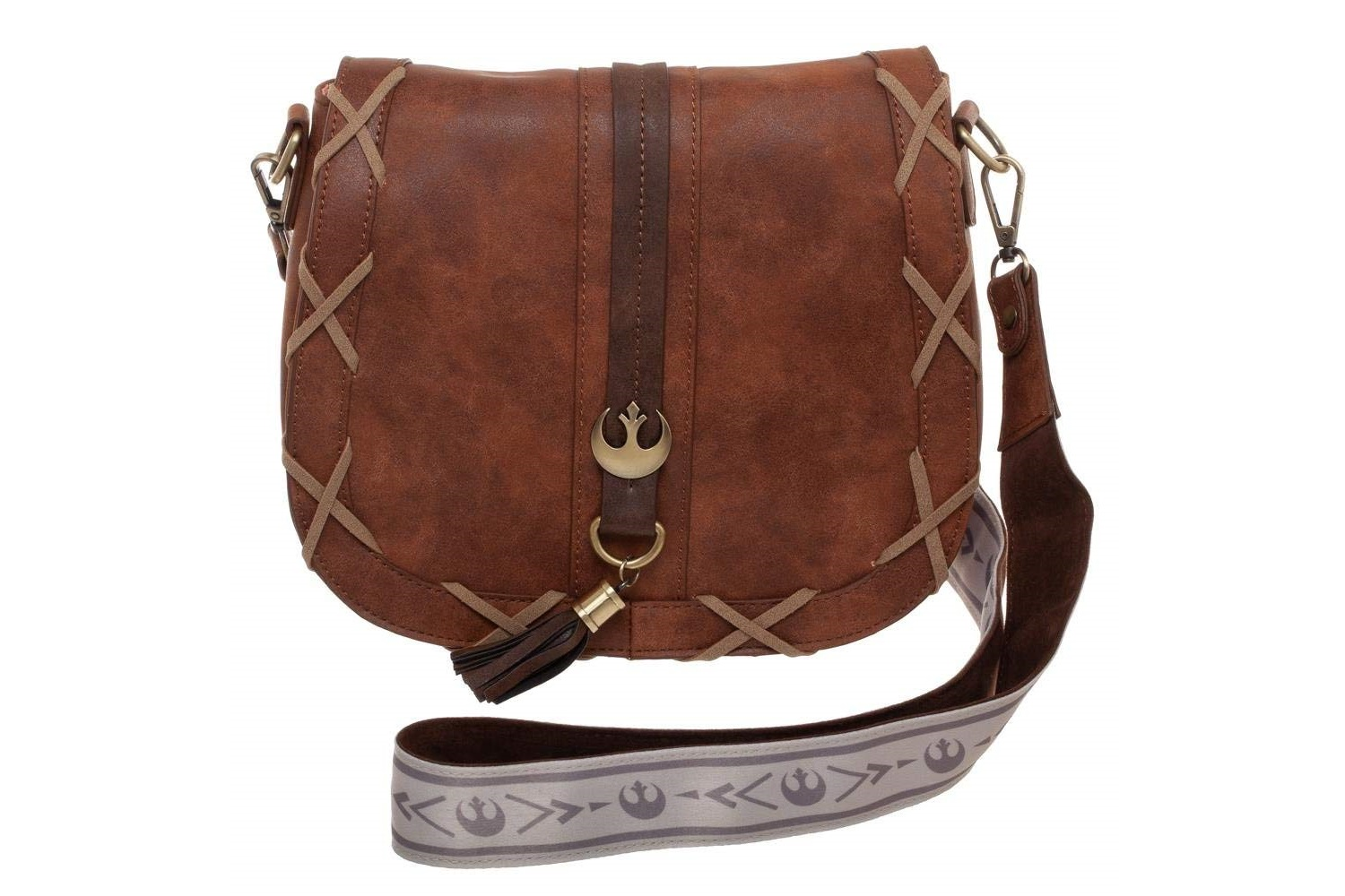 Bioworld Princess Leia Endor Saddlebag Purse