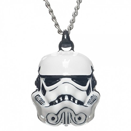 Bioworld x Star Wars Stormtrooper Helmet Necklace on Amazon