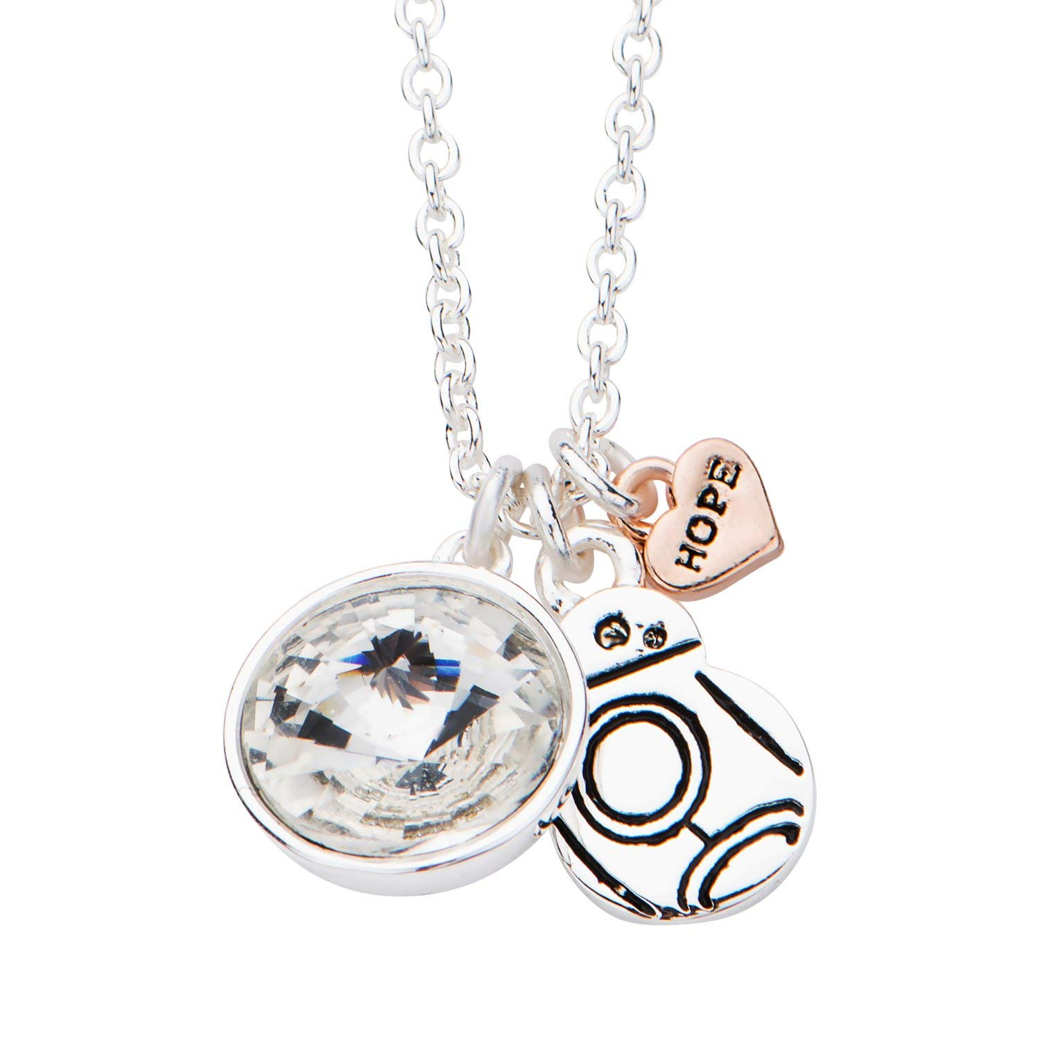 Body Vibe x Star Wars BB-8 Hope Charm Necklace on Amazon
