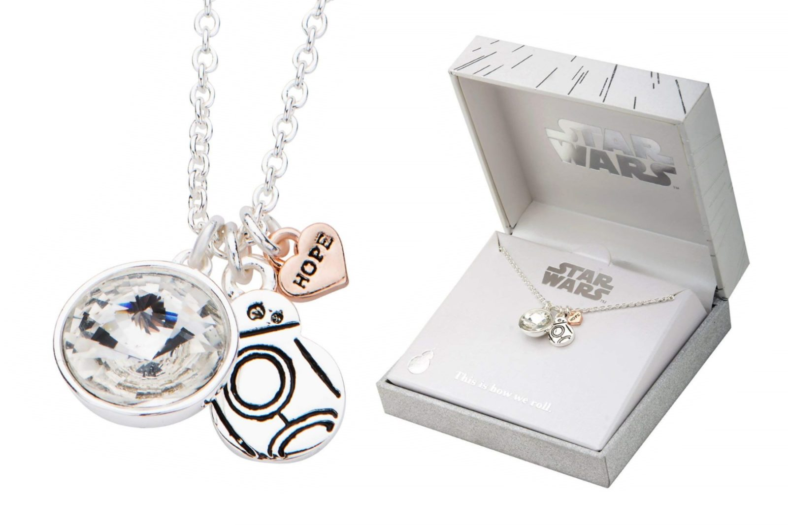 Star Wars BB-8 Hope Necklace on Amazon
