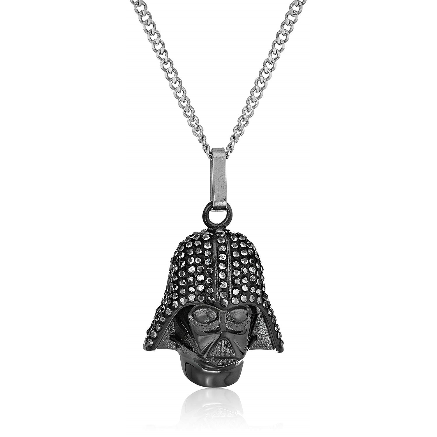 Body Vibe x Star Wars Darth Vader Rhinestone Necklace on Amazon