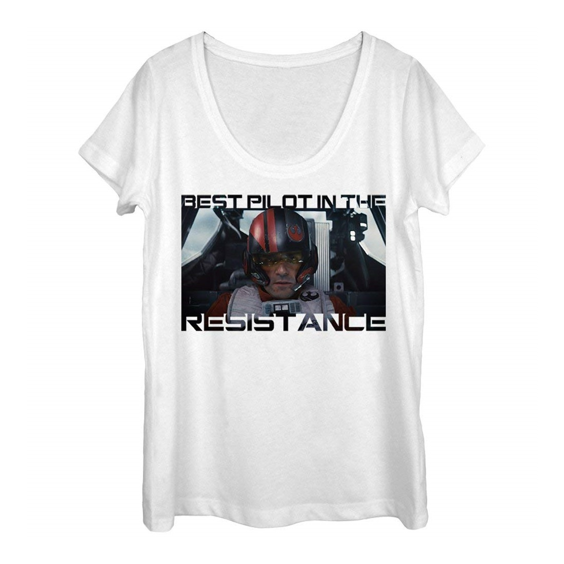 Leia's List - Women's Star Wars Poe Dameron T-Shirt by Fifth Sun available on Amazon