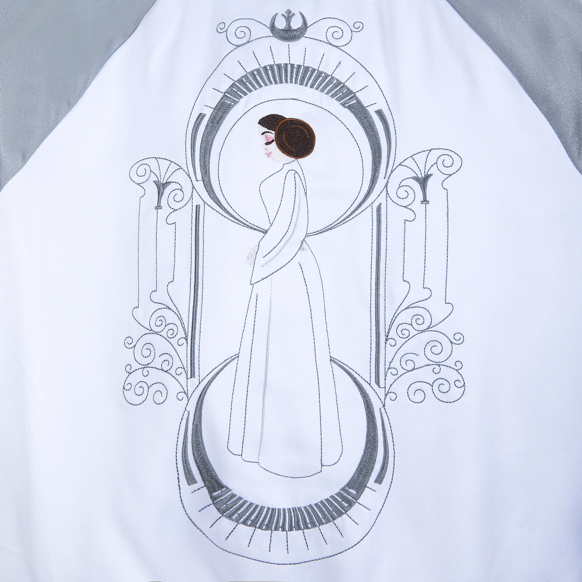 Our Universe x Star Wars Princess Leia Varsity Jacket at Shop Disney