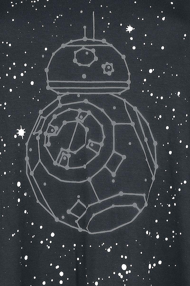 Women's Star Wars BB-8 Galaxy Draped Top at EMP Online