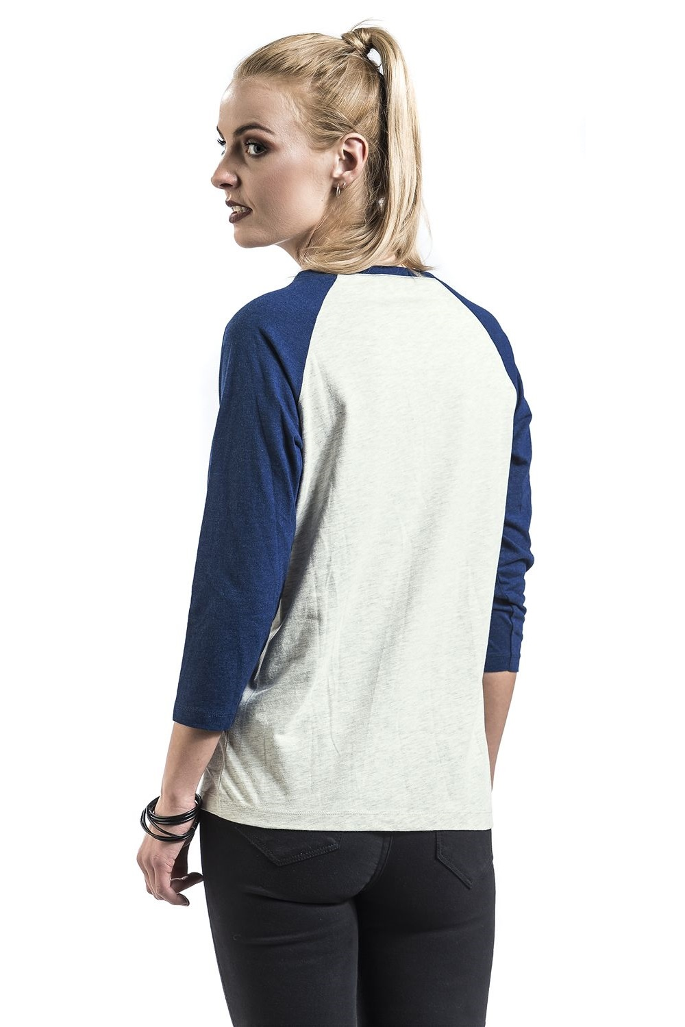 Women's Star Wars R2-D2 Raglan Long Sleeve Top at EMP Online
