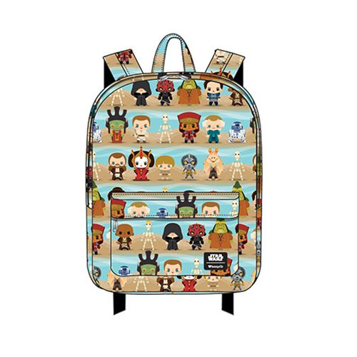 Loungefly x Star Wars The Phantom Menace Chibi Character Backpack at Entertainment Earth